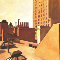 Эдвард Хоппер. Крыши города
