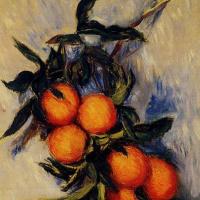 Клод Моне. Ветка апельсинов