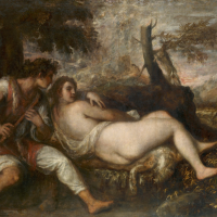 Nymph and shepherd