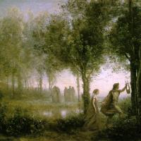 Orpheus Leading Eurydice of the Underworld