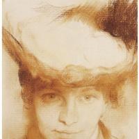 Клод Моне. Портрет девушки