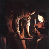 Жорж де Латур. Христос