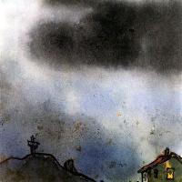 Эмиль Нольде. Дом и крест в горах