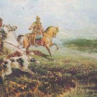 Boyar hunting times of Tsar Alexei Mikhailovich