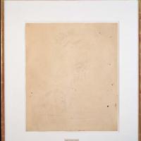 Erased de Kooning drawing