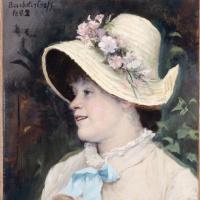 Мария Константиновна Башкирцева. Parisienne (Irma)