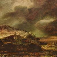 Stormy landscape