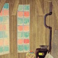 """Туве Янссон. Иллюстрация к рассказу Т. Янссон """"Волшебная зима"""""""