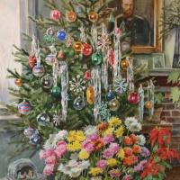 Ольга Александровна Романова. Рождество Христово у Великой Княгини