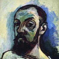 Анри Матисс. Автопортрет в полосатой футболке