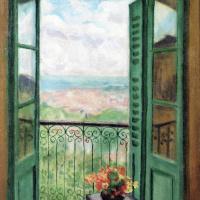 Альбер Марке. Окно с видом на алжирский залив
