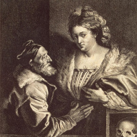 Titian and his sweetheart