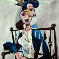 Женщина, сидящая в кресле (Дора Маар)
