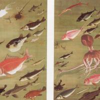 Ито Дзякутю. Осьминог и рыбы