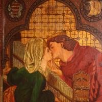 Dante Gabriel Rossetti. Honeymoon in the Cabinet of king Rene (Music)