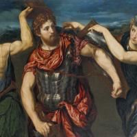Меркурий и Минерва вооружают Персея