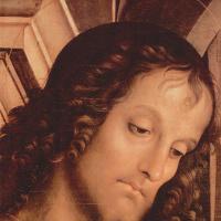 Мадонна на троне со св. Иоанном Крестителем и св. Себастьяном, деталь: св. Иоанн Креститель