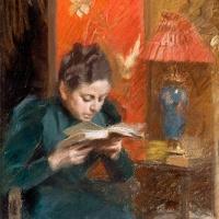 Андерс Цорн. Жена художника