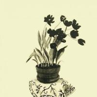 Дэвид Хокни. Черные тюльпаны