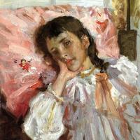 Уильям Чейз. Уставшая, или портрет дочери художника