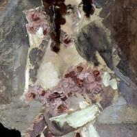 A portrait of his wife, Nadezhda Ivanovna Zabela-Vrubel