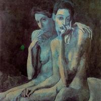 Pablo Picasso. Two friends