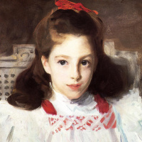 Джон Сингер Сарджент. Портрет мисс Дороти Викерс