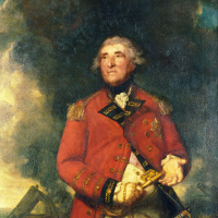 Портрет адмирала лорда Хитфилда, губернатора Гибралтара