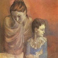 Пабло Пикассо. Мать с ребенком