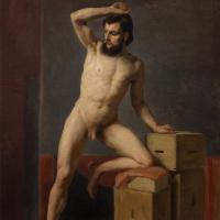 Густав Климт. Обнаженный мужчина