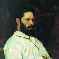 Виктор Михайлович Васнецов. Портрет скульптора М.М. Антокольского