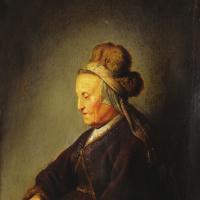 Геррит (Герард) Доу. Мать Рембрандта