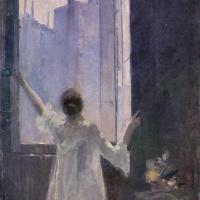 Константин Алексеевич Коровин. У окна