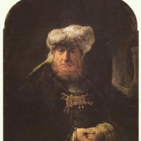 Рембрандт Харменс ван Рейн. Проказа царя Озии