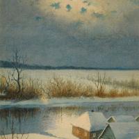 Ричард Александрович Берггольц. Зима