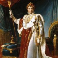 Франсуа Паскаль Симон Жерар. Наполеон в коронационном одеянии