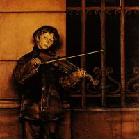 Норман Роквелл. Фил и его скрипка