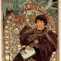 Lorenzaccio. Promotional poster for Sarah Bernhardt