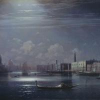 Ночной пейзаж. Венеция