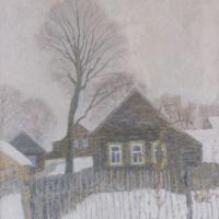 Ивета Львовна Салганик. Зима в деревне