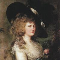 Portrait Georgiana, Duchess of Devonshire
