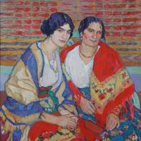 Елена Андреевна Киселева. Мать и дочь