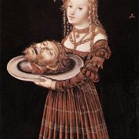 Лукас Кранах Старший. Саломея с головой Иоанна Крестителя