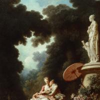 """Жан Оноре Фрагонар. Признание в любви. Из живописной серии """"Любовные приключения"""""""