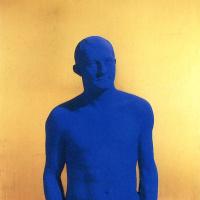 Синий мужчина