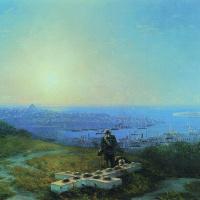 Иван Константинович Айвазовский. Малахов курган (Место, где смертельно был ранен Корнилов)