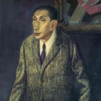 Портрет мужчины в пальто