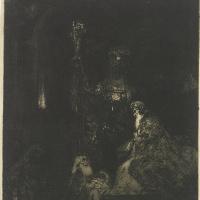 Рембрандт Харменс ван Рейн. Принесение во храм
