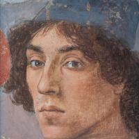 Fra Filippo Lippi. Self-portrait