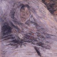 Клод Моне. Камилла на смертном одре